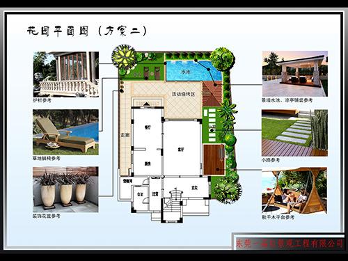花园平面图
