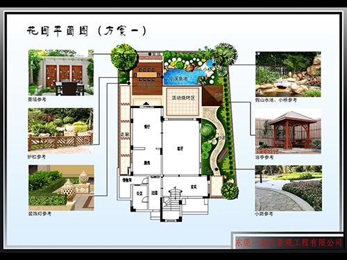 花园平面设计图