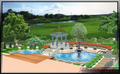 欧式-别墅花园