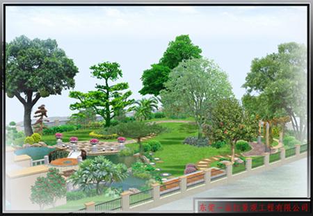 私家花园-景观绿化