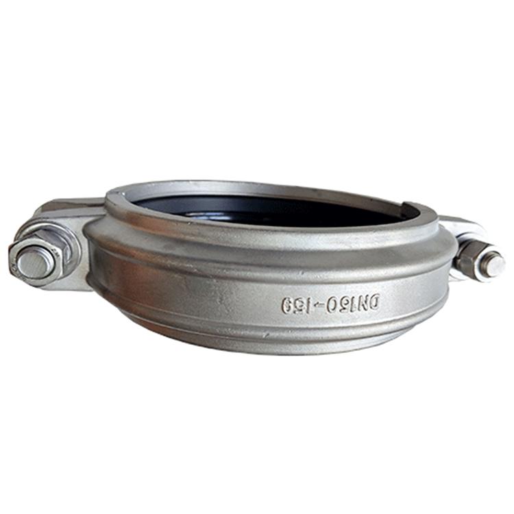 橫瀝卡耐夫卡箍溝槽管件連接方式_方程建材_鋼塑異徑三通