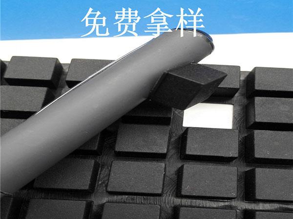 3m背胶黑色硅胶胶垫 自粘黑色防滑胶垫片 单面球形自粘硅胶脚垫