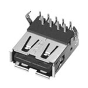 USB 3.0母座90°Dip