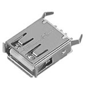 USB A母座180°直插15.0彎腳