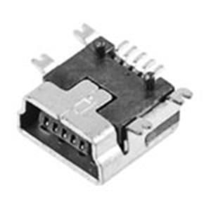 MINI USB 5P母座 B Type SMT式