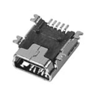 MINI USB 5P母座B Type SMT式