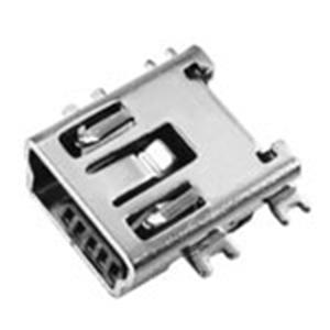 MINI USB 5P母座B Type沉板式