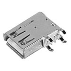 USB A母座90°側插長體