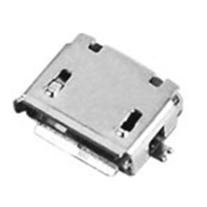 Micro USB 5p母座 AB Type SMT