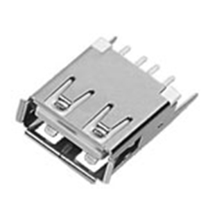 USB A母座180°15.0直腳