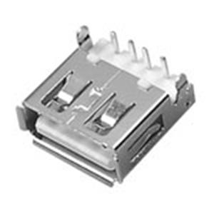 USB A母座90° Dip沉板型