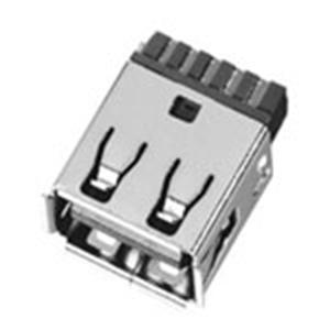USB 3.0母座焊線式