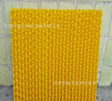 小家电专用黄色水帘纸,移动冷风机专用湿帘,加湿器专用水帘