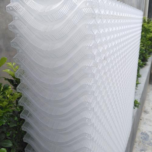 白色塑料水帘高档塑料水帘 纯PP高档塑料水帘 食品级环保塑料水帘