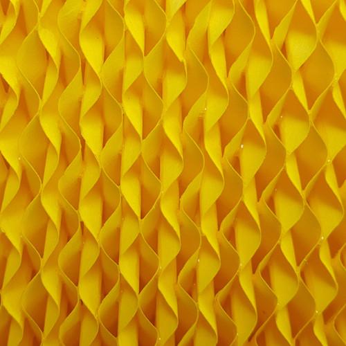 小家电专用黄色水帘纸 移动冷风机专用湿帘 加湿器专用湿膜 湿膜