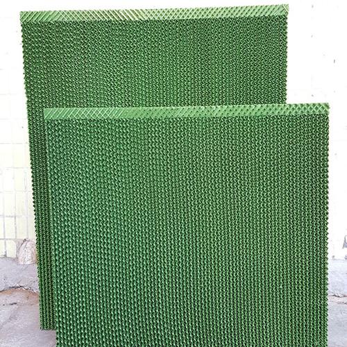 湿帘5090 绿色湿膜湿帘 换热芯体 空调制冷环保降温水帘生产厂家