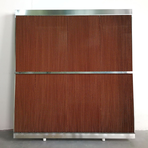 7060#防飞水降温水帘框 厂房降温水帘墙 湿帘框 降温湿帘墙