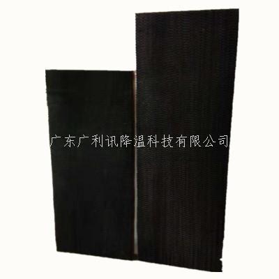 带黑边湿帘纸耐用美观环保树胶