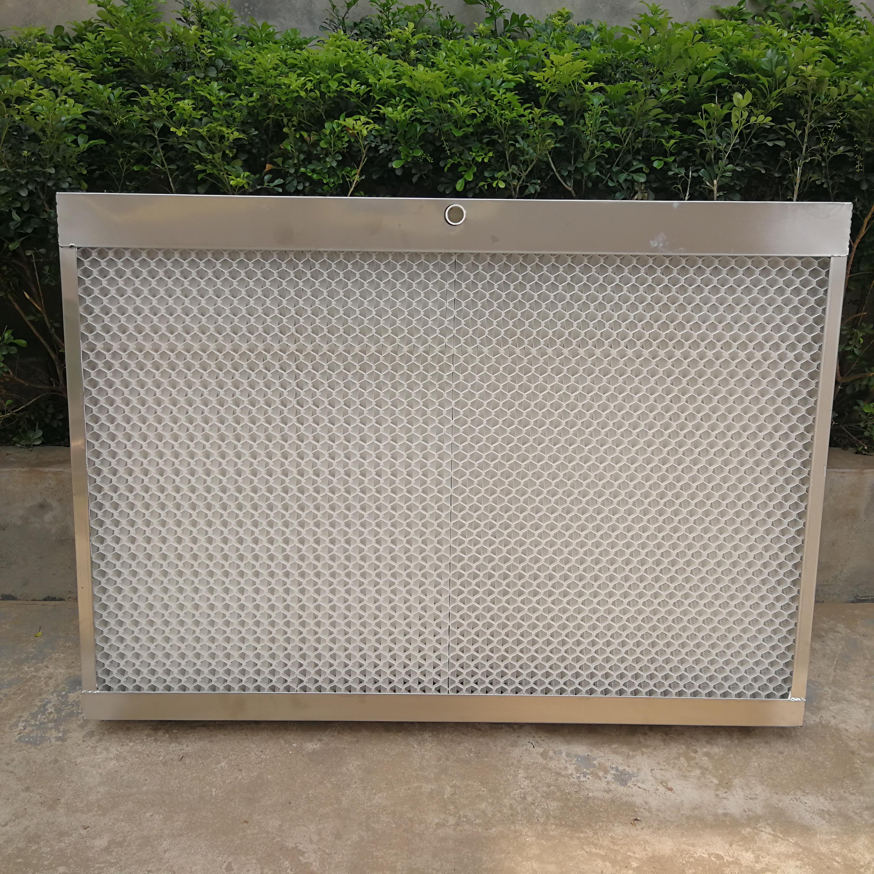 塑料降温水帘墙 畜牧温室大棚水帘墙塑料耐用降温水帘墙湿帘墙