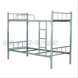 鐵床什么價?【雙層鐵床定做】單人鐵床生產【學生上下鐵床】華興生產鐵床批發鐵床