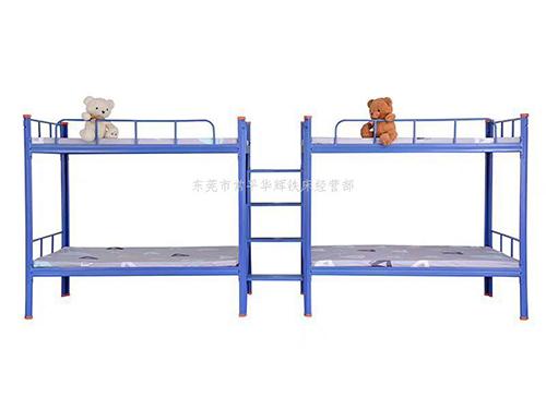 学生公寓床|新款学生床|高低学生床华辉铁床厂家
