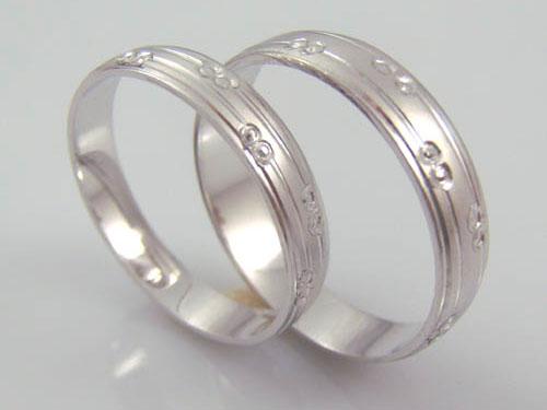 Pt990鉑金戒指