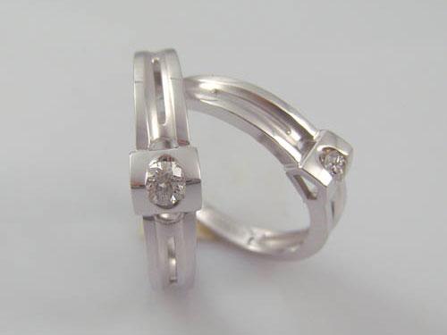 18K金鉆石戒指