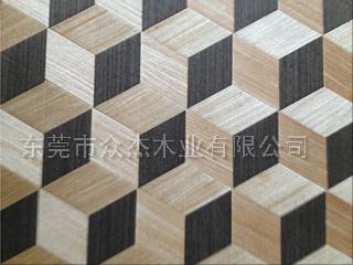 立体感编织木皮 木皮编织样板 背景墙编织面板