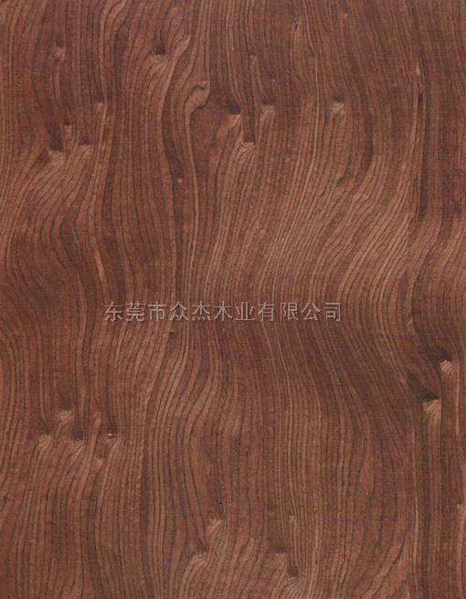球形影木 红影饰面板 科技木皮 新款木皮