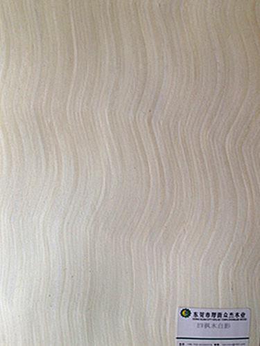 枫木白影 科技木皮白影 室内装饰高档影木面板 30丝影木样板