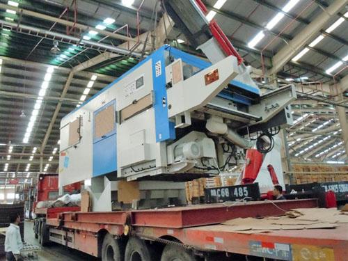 50吨模切机卸车