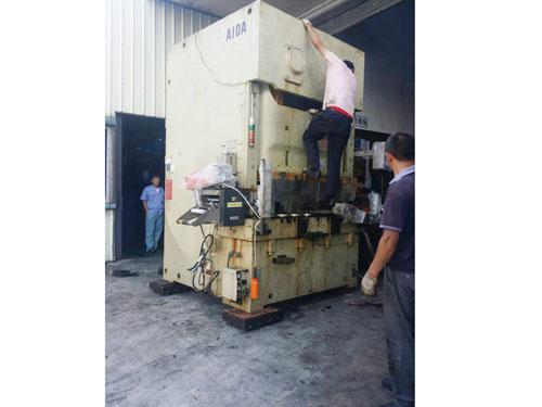 重型机械移位生产