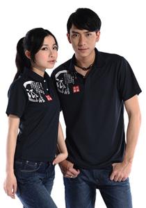 东莞最新修身男女工作服厂服T恤衫04