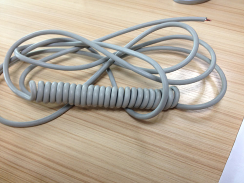灰白PVC彈弓線