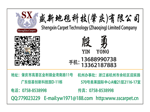 盛新地毯科技(肇庆)有限公司