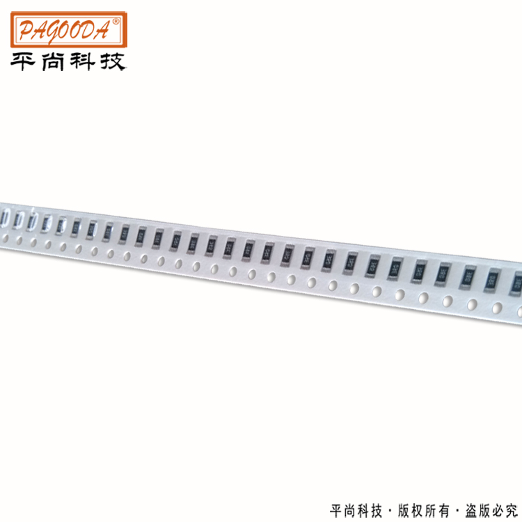 厚膜电阻结构 贴片厚膜电阻系列
