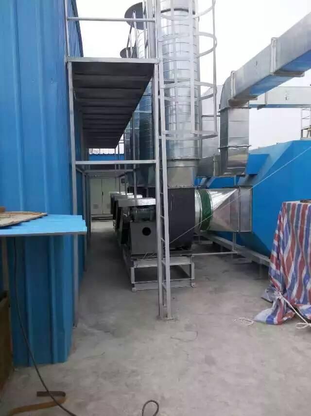 白铁通风除尘通风管道工业废气净化处理喷油净化工程