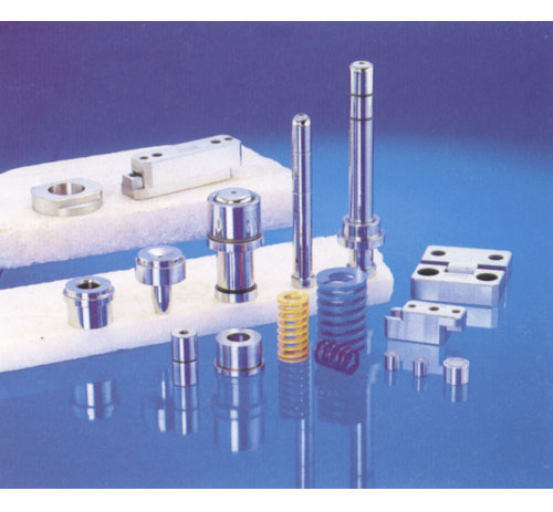 导柱辅助器、日期章弹簧、导柱套