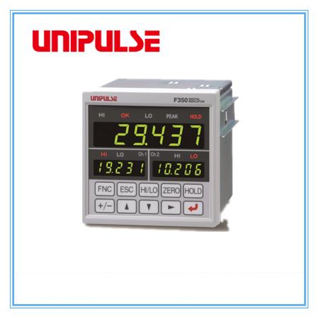 UNIPULSE F350雙通道數字顯示測力儀表