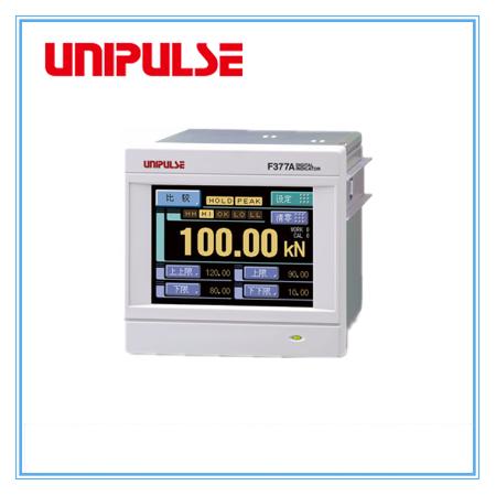 UNIPULSE F377A波形顯示測力儀表(標準電流/電壓輸出傳感器)