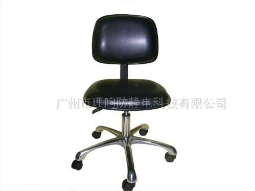 防静电皮面靠背椅08