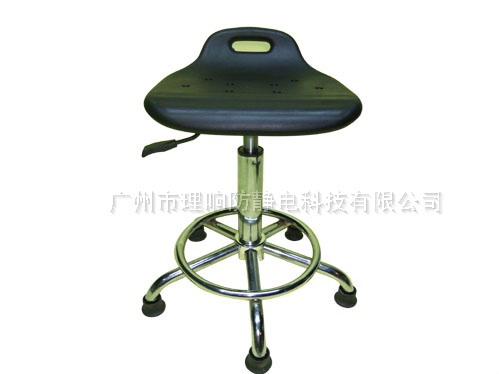防静电升降PU发泡小靠背椅04