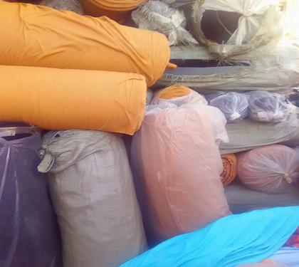 东莞惠州广州回收皮革回收广告布,大牛津一切成支尼纶底过胶人造革都可回收