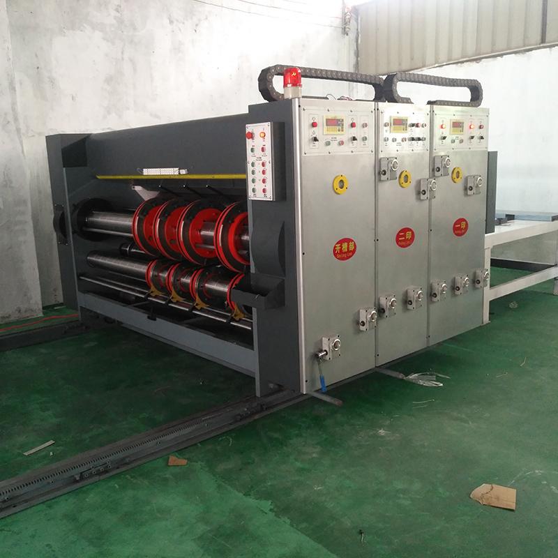 纸箱印刷开槽机供应商_亮枫纸箱机械_纸箱水墨印刷_高速自动_自动
