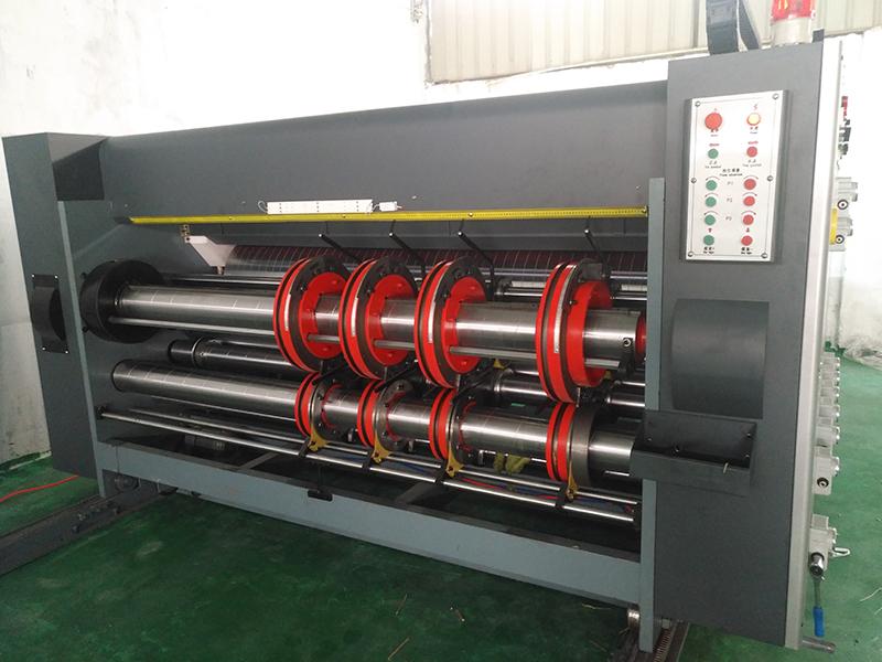 高速自动开槽机价格_亮枫纸箱机械_全自动_专业_双色印刷_轮转