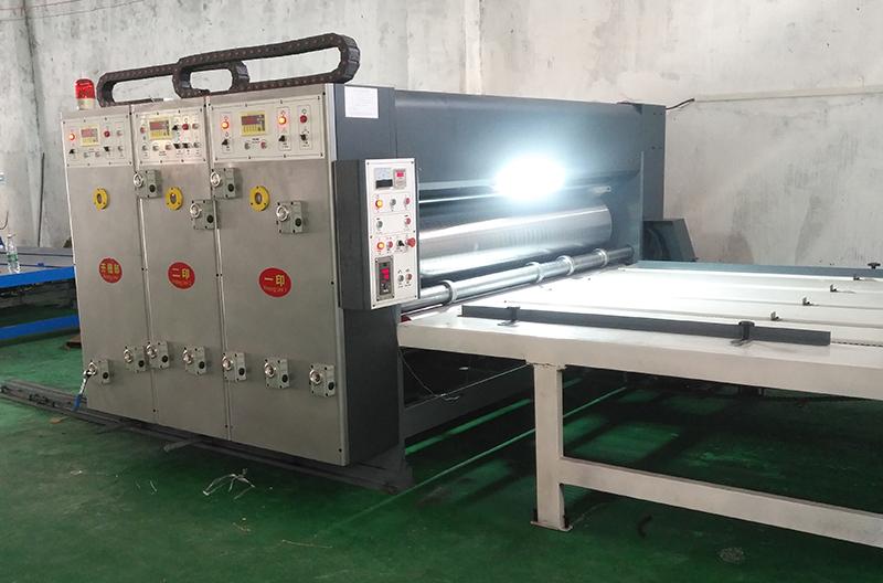 紙箱水墨印刷_專業開槽機哪里有_亮楓紙箱機械