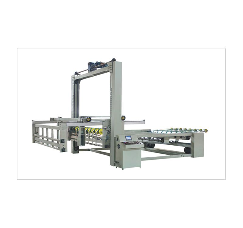 西安纸板堆码机_亮枫纸箱机械_二手_纸张_纸箱自动_码垛机_龙门