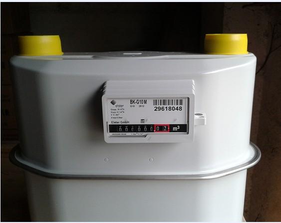 煤气管道专用煤气表工业用型号G10零售批发