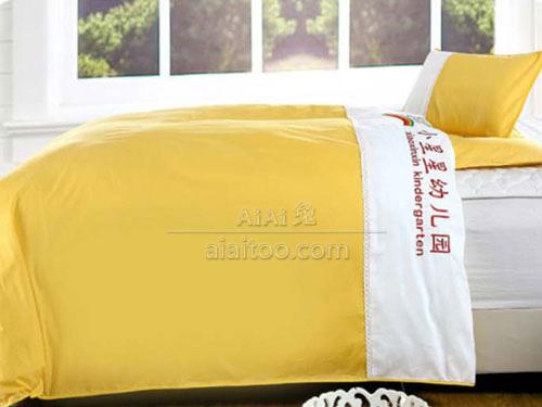 幼儿园棉被B1502黄色