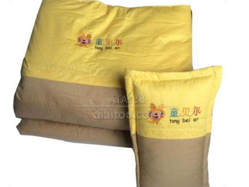 幼儿园棉被C1505黄+咖啡